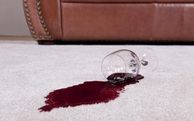 Getting Those Red Wine Stains Out of Your Carpet